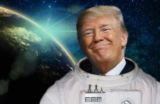 Trump Space Force One