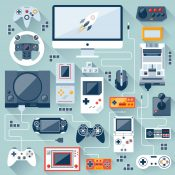 There were two glorious developments in computer technology which enabled the speedier creation of video games and online games: the Internet, and home computer versatility.